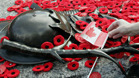 Remembrance Day Landmark
