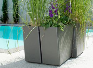 Eternit Molded Concrete Planter 3